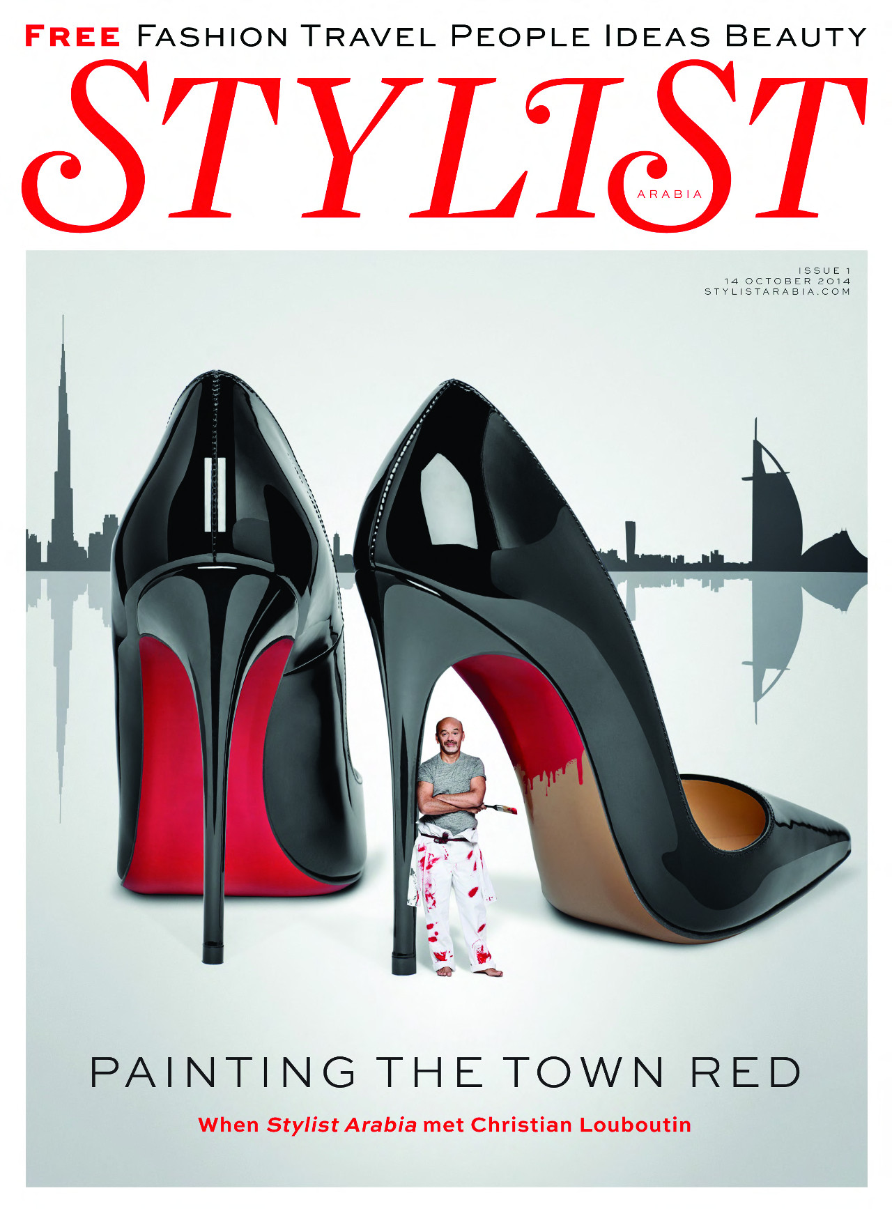 ab725f2ec32 News - Christian Louboutin Online Boutique - Stylist Arabia Launches with Christian  Louboutin