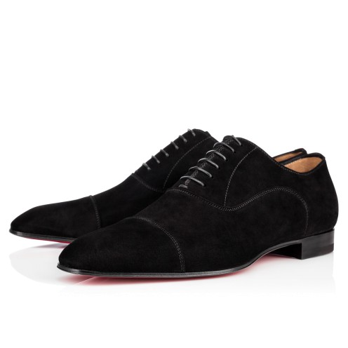 Men Shoes - Greggo Veau Velours - Christian Louboutin