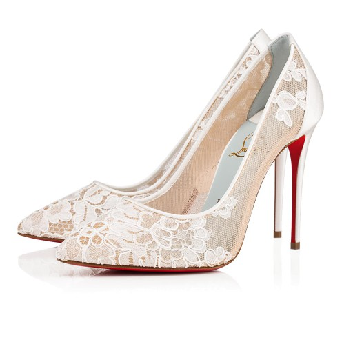 Souliers - Follies Lace Dentelle - Christian Louboutin