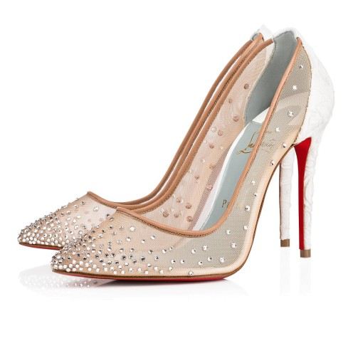 Souliers - Follies Strass 100 Dentelle - Christian Louboutin