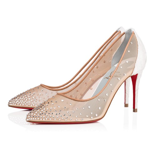 Souliers - Follies Strass 085 Dentelle - Christian Louboutin