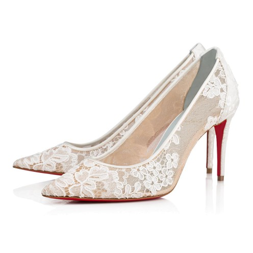 Shoes - Lace 554 Dentelle - Christian Louboutin