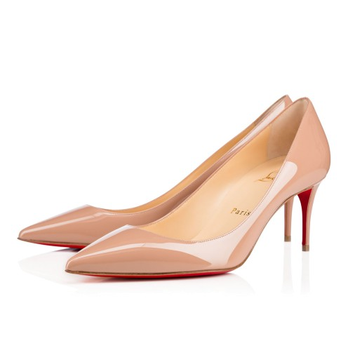 Women Shoes - Decollete 554 Patent - Christian Louboutin