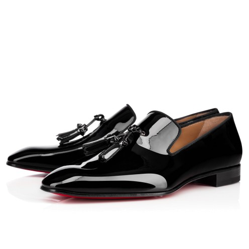 Men Shoes - Dandelion Tassel Patent - Christian Louboutin