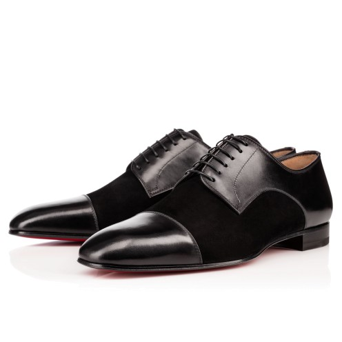 Men Shoes - Top Daviol Calf /veau Velours - Christian Louboutin