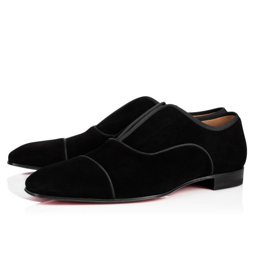 Shoes - Alpha Male Veau Velours/gg - Christian Louboutin