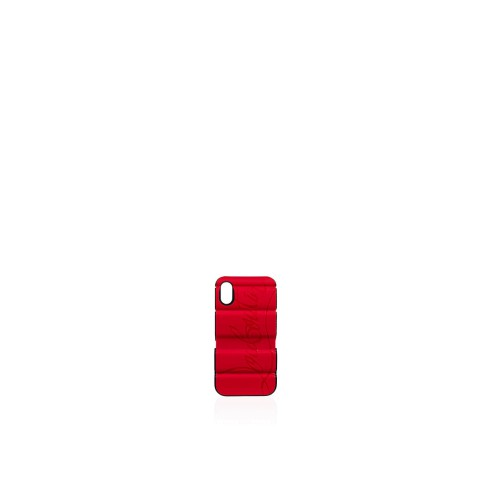 Petite Maroquinerie - Red Runner Case Iphone X/xs - Christian Louboutin