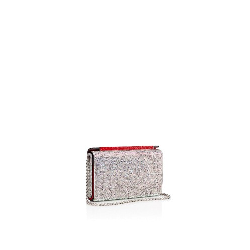 Bags - Vanite Metal Strass Clutch - Christian Louboutin_2