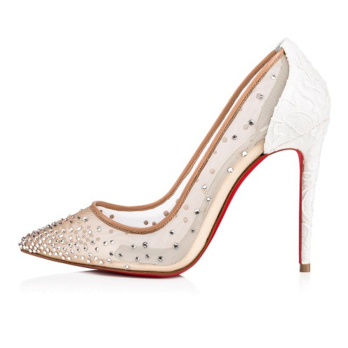 Souliers - Follies Strass 100 Dentelle - Christian Louboutin_2