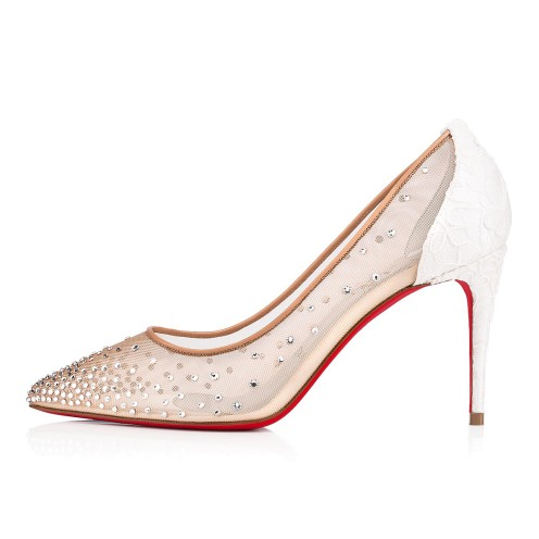 Souliers - Follies Strass 085 Dentelle - Christian Louboutin_2