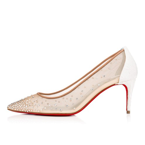 Souliers - Follies Strass 070 Dentelle - Christian Louboutin_2