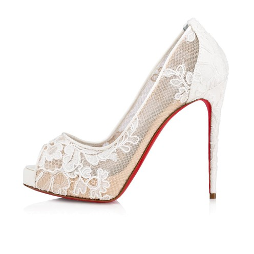 Shoes - Very Lace 120 Dentelle - Christian Louboutin_2