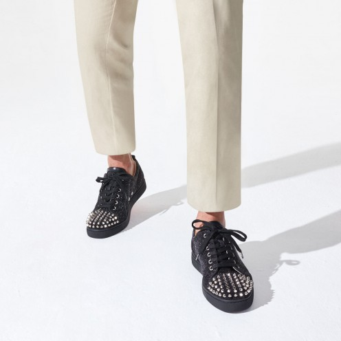 Shoes - Louis Junior Spikes Orlato - Christian Louboutin_2