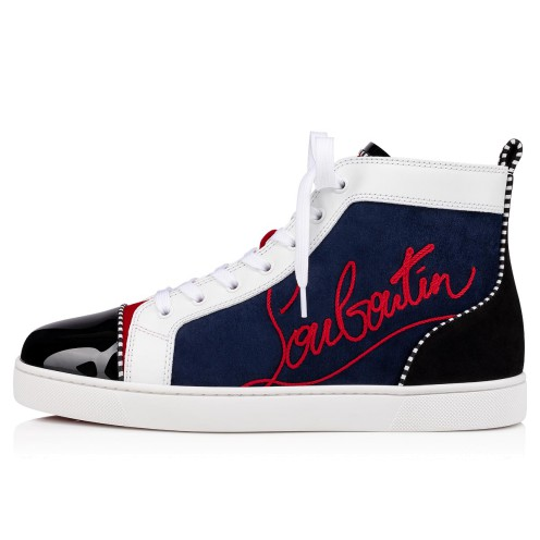 Shoes - Navy Louis - Christian Louboutin_2