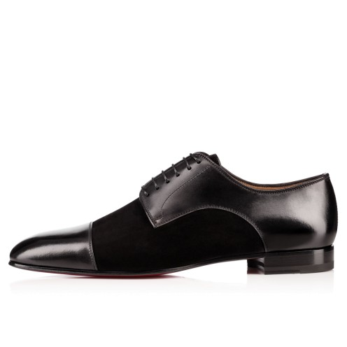 Men Shoes - Top Daviol Calf /veau Velours - Christian Louboutin_2