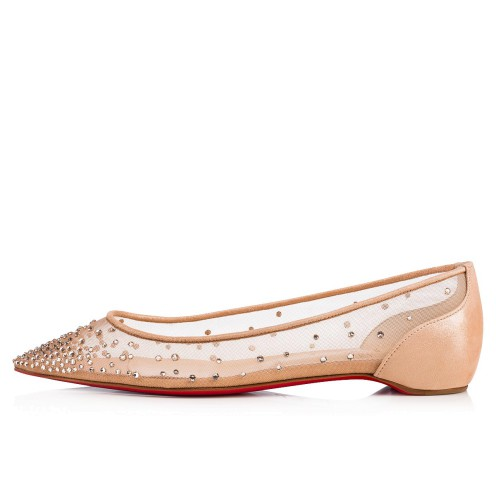 Souliers - Follies Strass Rete/suede Lame - Christian Louboutin_2