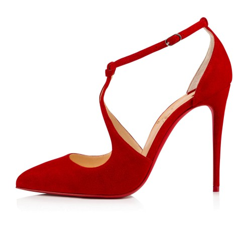 Shoes - Alminetta Veau Velours - Christian Louboutin_2