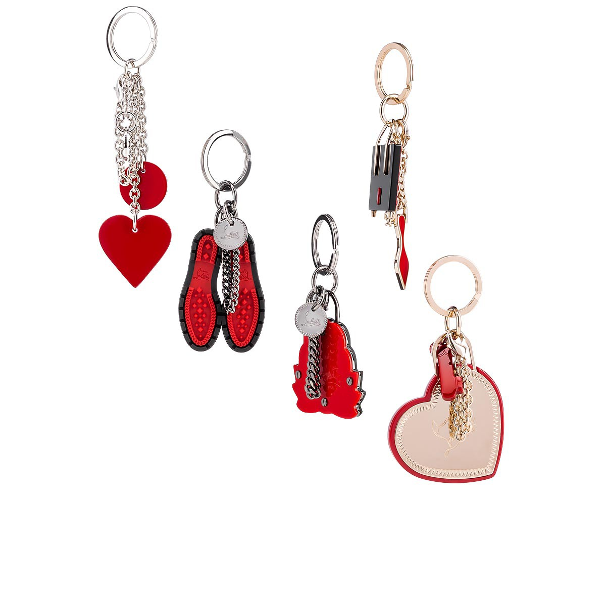 Small Leather Goods - Lug Sole Keyring - Christian Louboutin