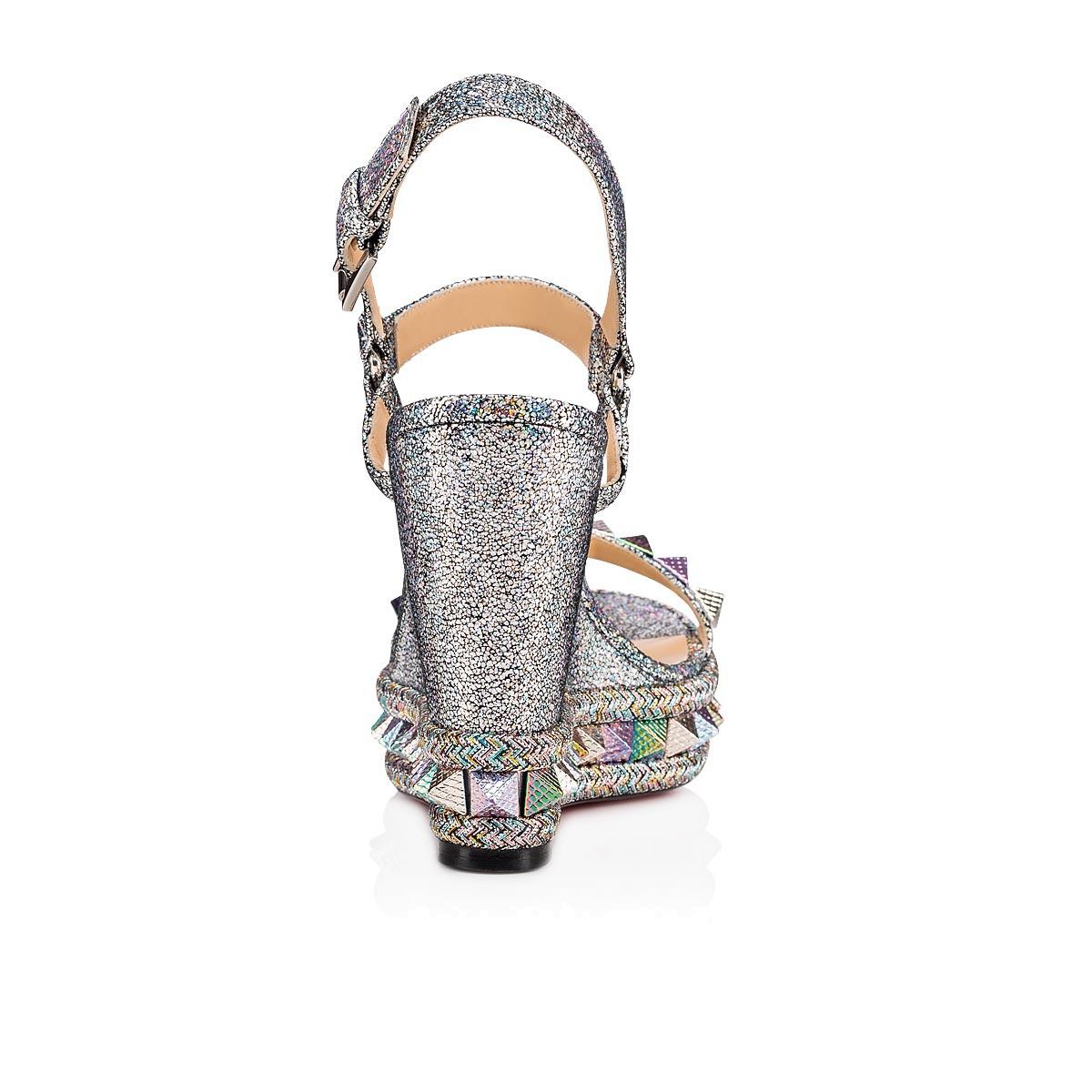 Shoes - Pyraclou Nappa Mica - Christian Louboutin