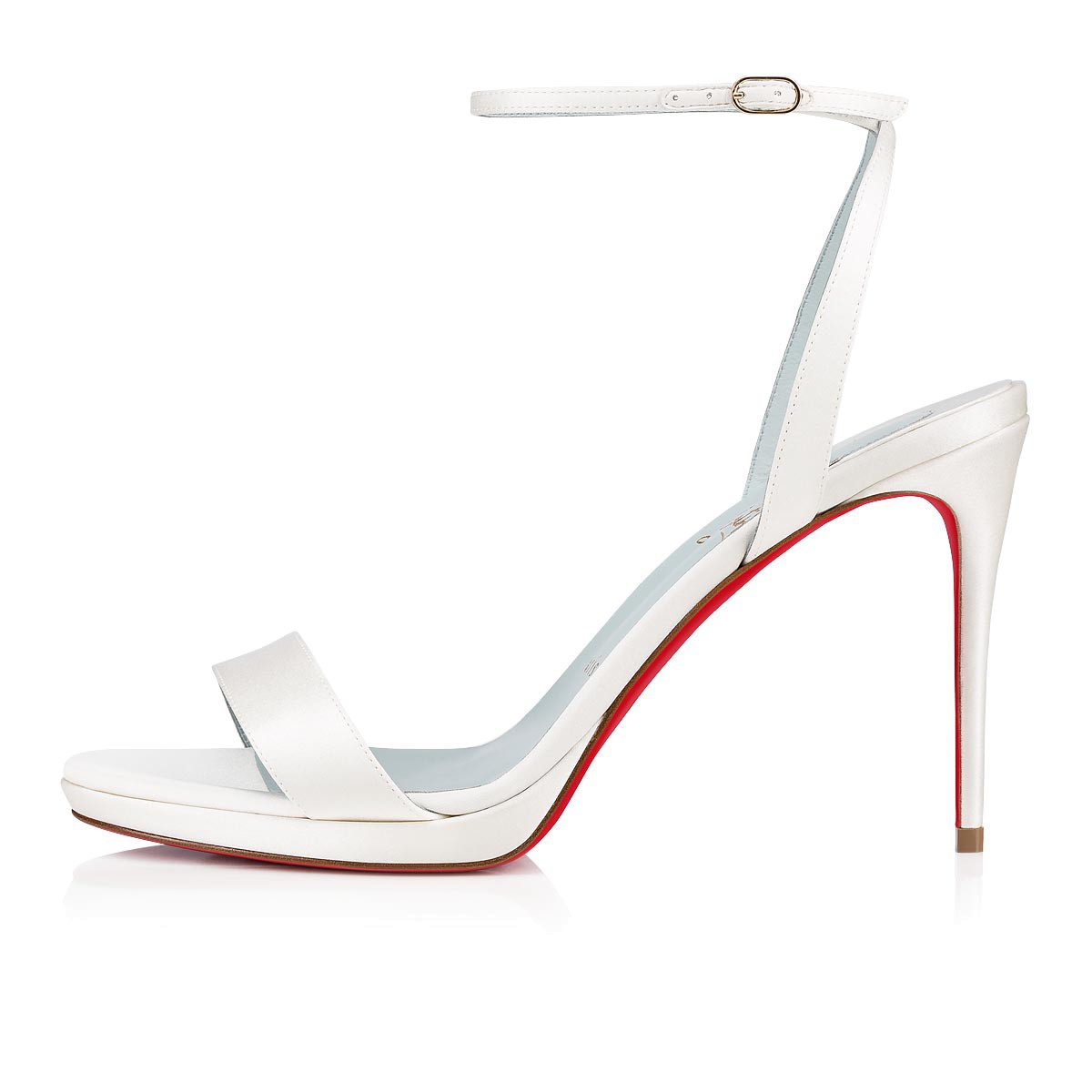 Shoes - Loubi Queen Crepe Satin - Christian Louboutin