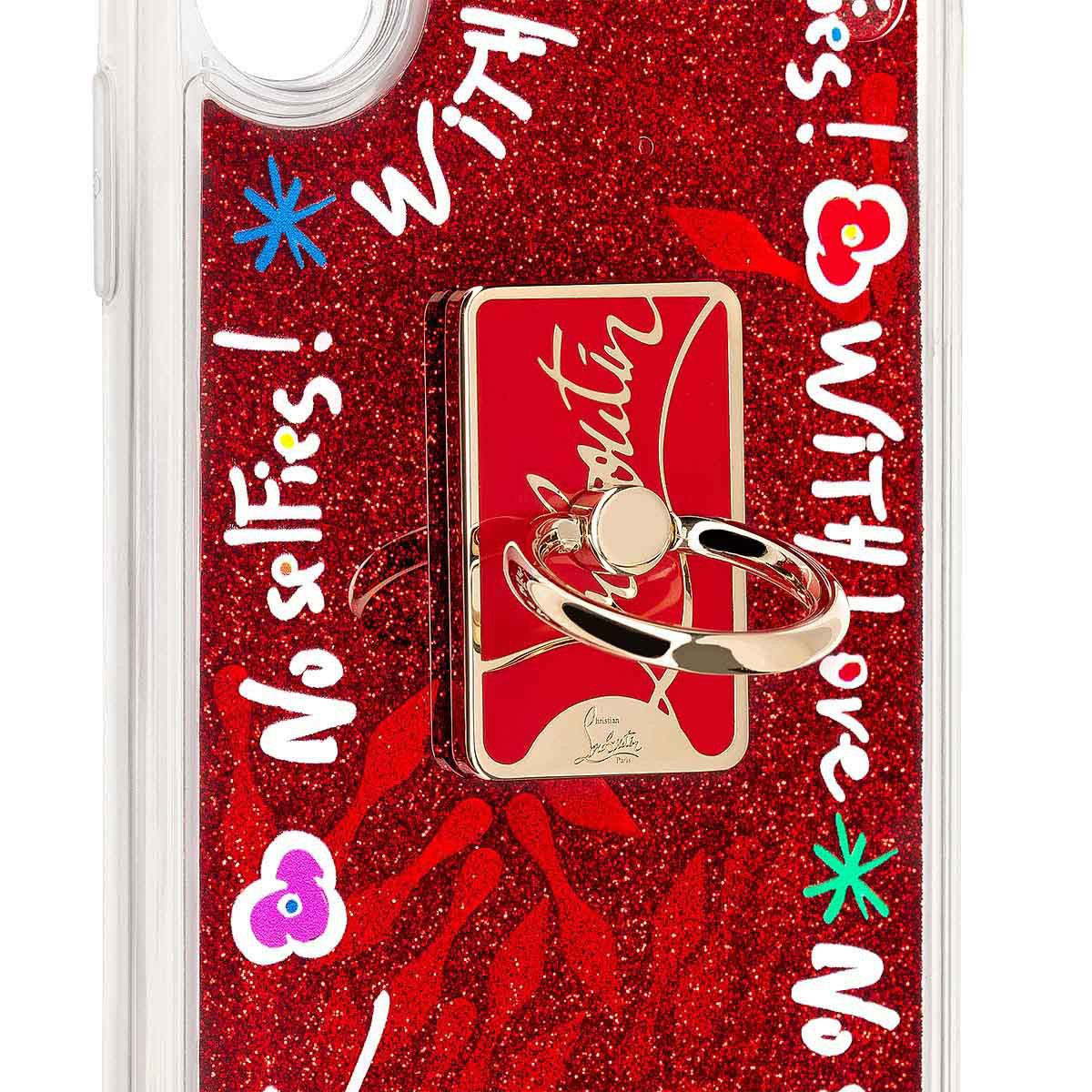 Small Leather Goods - Loubiring Case Iphone X/xs - Christian Louboutin