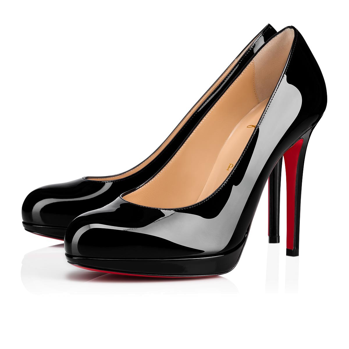 new arrival 2488e 87d86 NEW SIMPLE PUMP 120 Black Patent Calfskin - Women Shoes - Christian  Louboutin