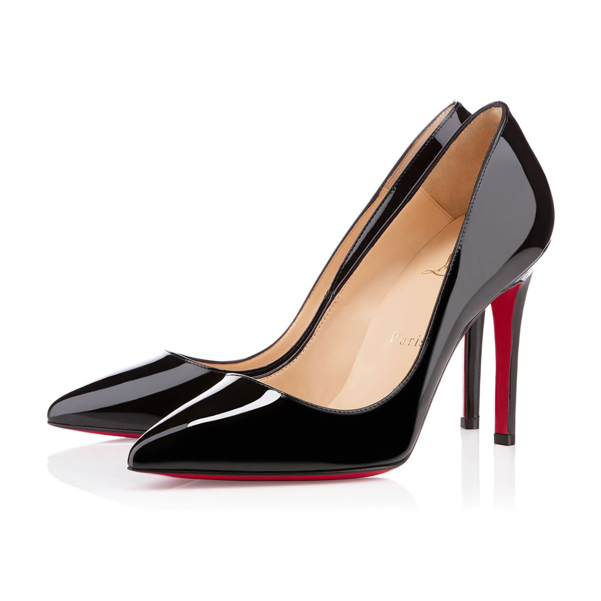 fantastic savings classic styles vast selection PIGALLE 100 BLACK PATENT - Women Shoes - Christian Louboutin