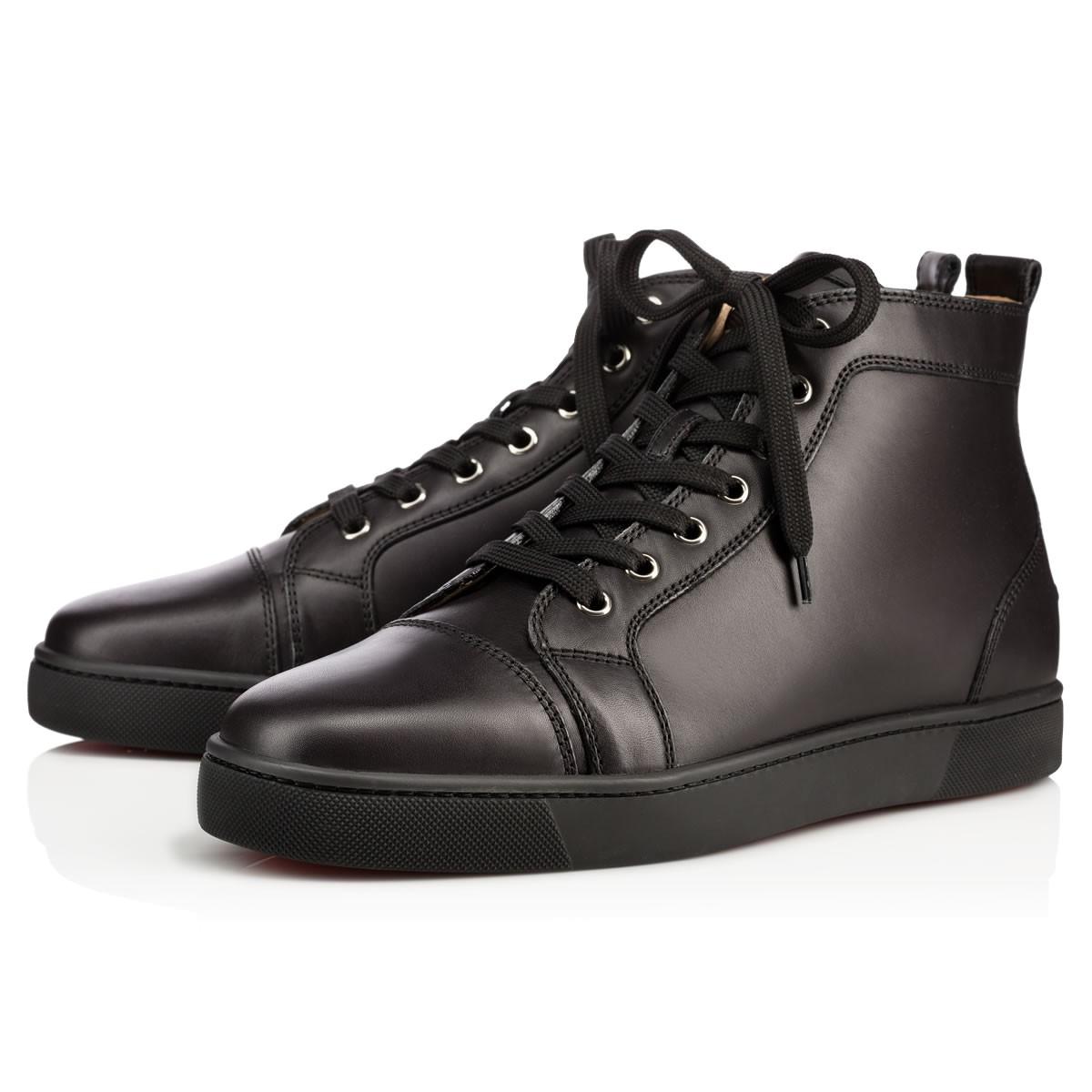 1b94a05b9a3d LOUIS CALF Black Calfskin - Men Shoes - Christian Louboutin