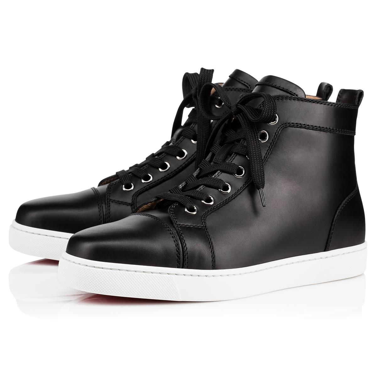 LOUIS WOMAN CALF Black Calfskin - Women Shoes - Christian ... b098e03d9d
