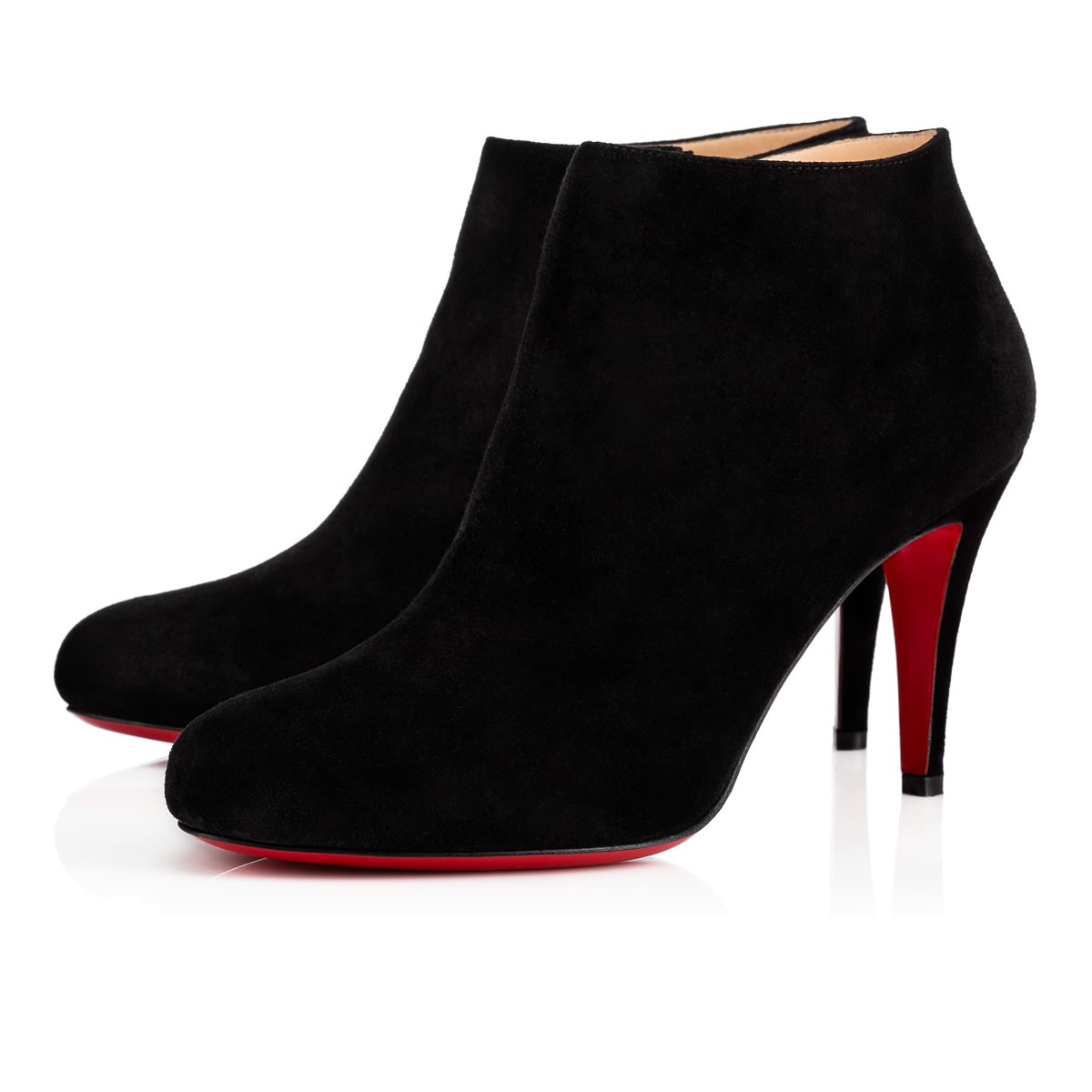 en soldes 58585 52f49 BELLE 85 Black Veau Velours - Women Shoes - Christian Louboutin