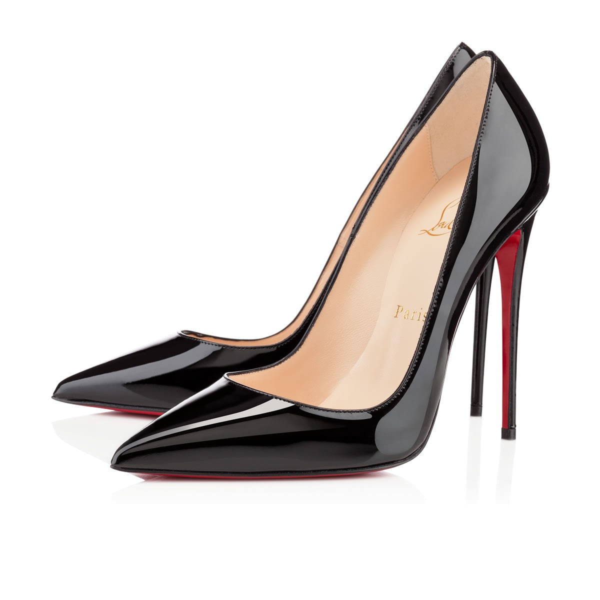 nouvelle arrivee 06d57 deb20 SO KATE 120 Black Patent Calfskin - Women Shoes - Christian Louboutin