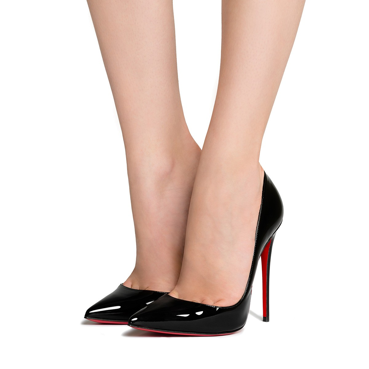 new arrival 49dff 6cf93 SO KATE 120 Black Patent Calfskin - Women Shoes - Christian Louboutin