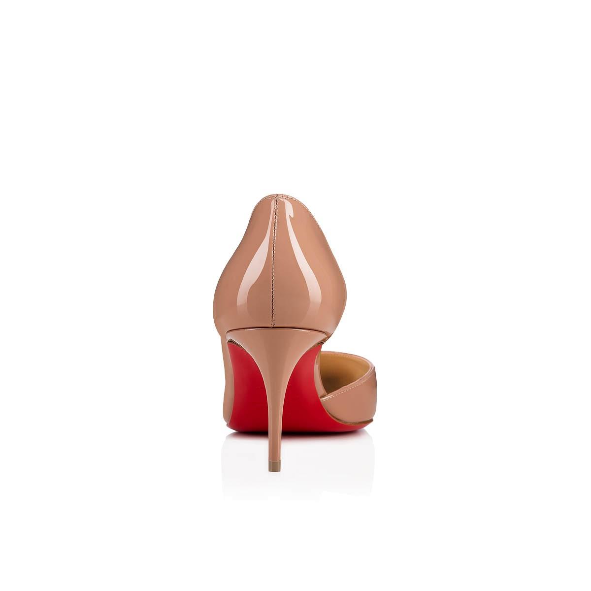 cheap for discount 32011 1a946 IRIZA 70 Nude Patent Calfskin - Women Shoes - Christian Louboutin