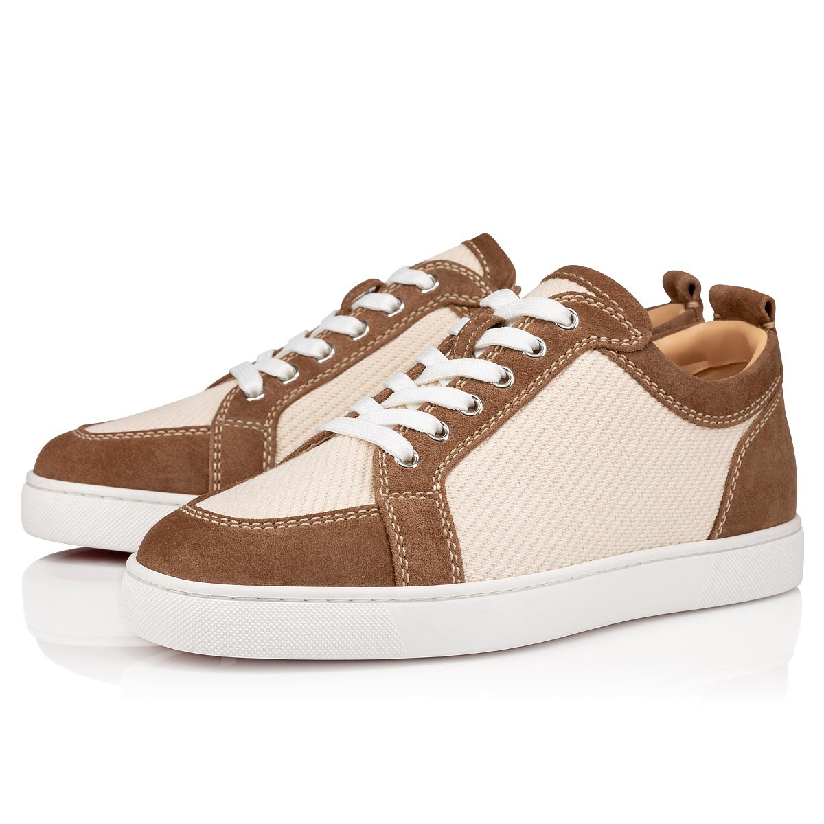 chaussure louboutin homme beige