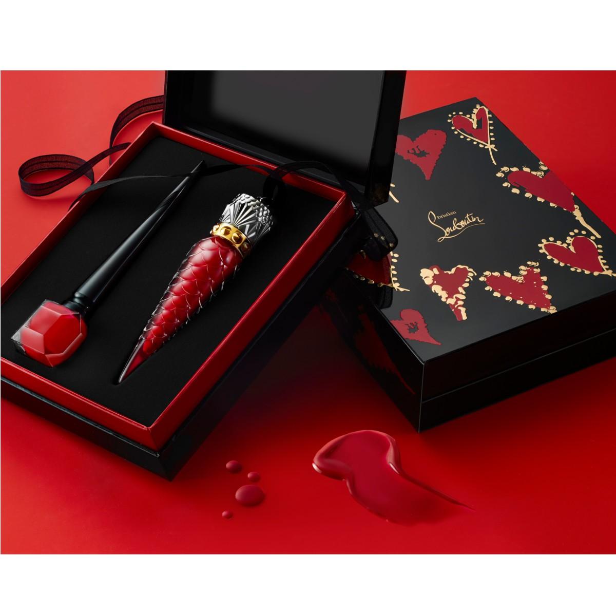 Beauty - Loubivalentine Rouge Louboutin Gift Box - Christian Louboutin
