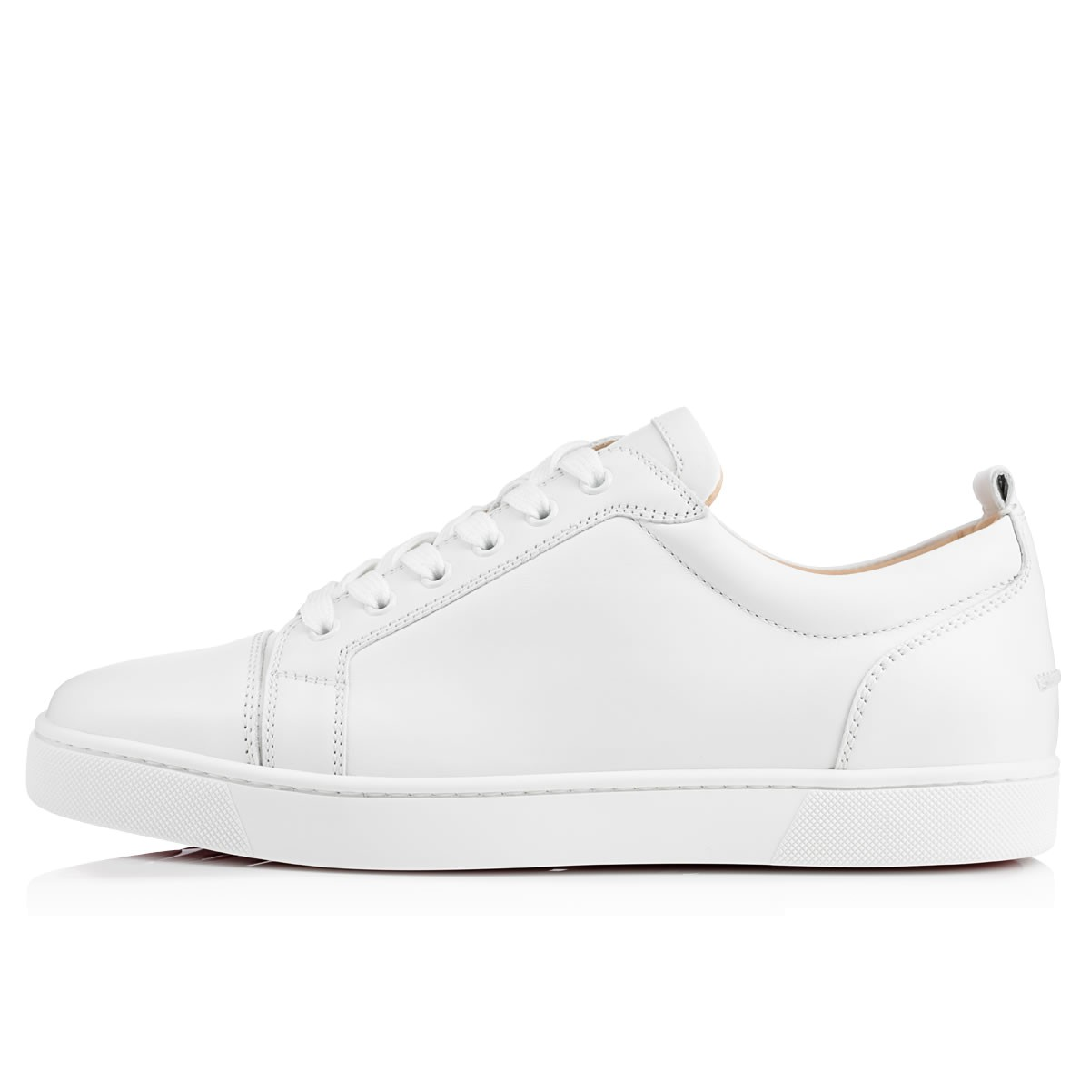 christian louboutin junior spike white