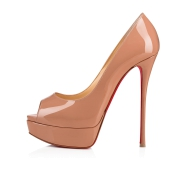 Shoes - Fetish Peep 150 Patent - Christian Louboutin