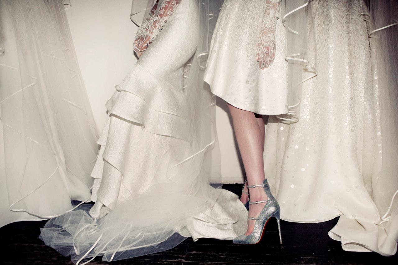 mariage en louboutin