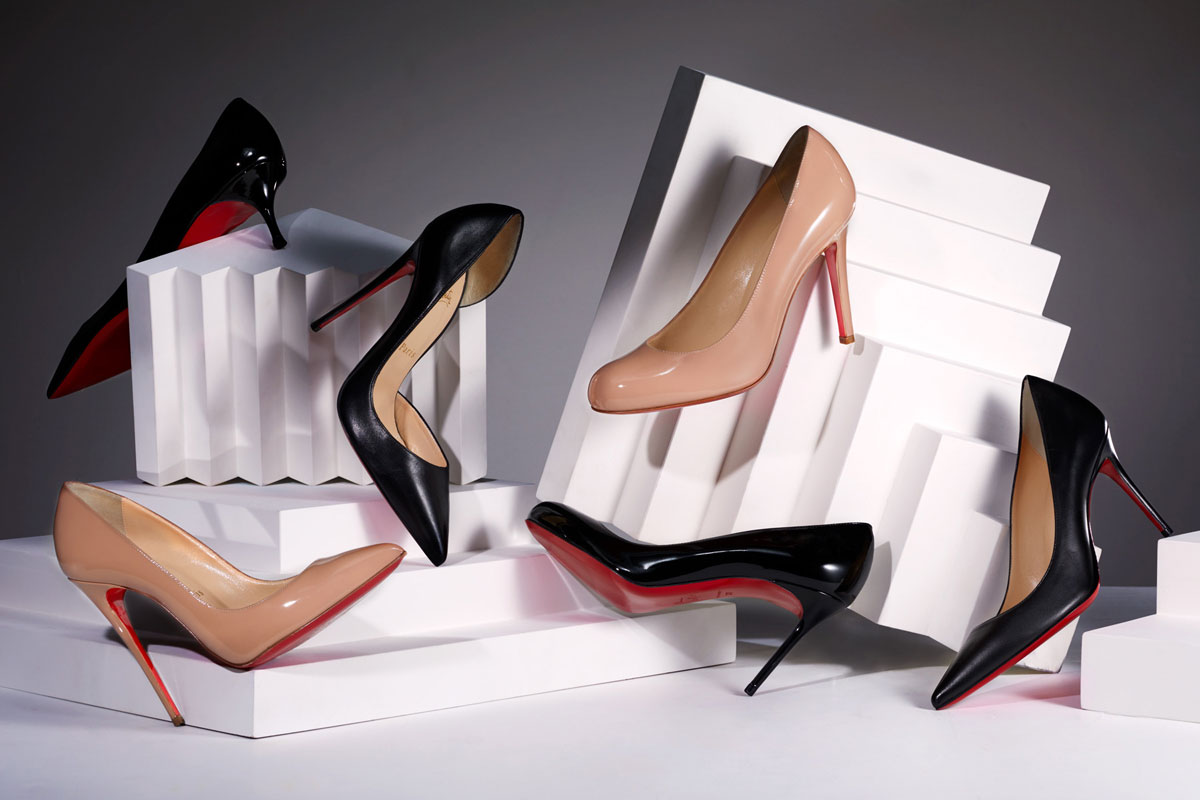 huge discount a542c 0166f Christian Louboutin - Black And Nude