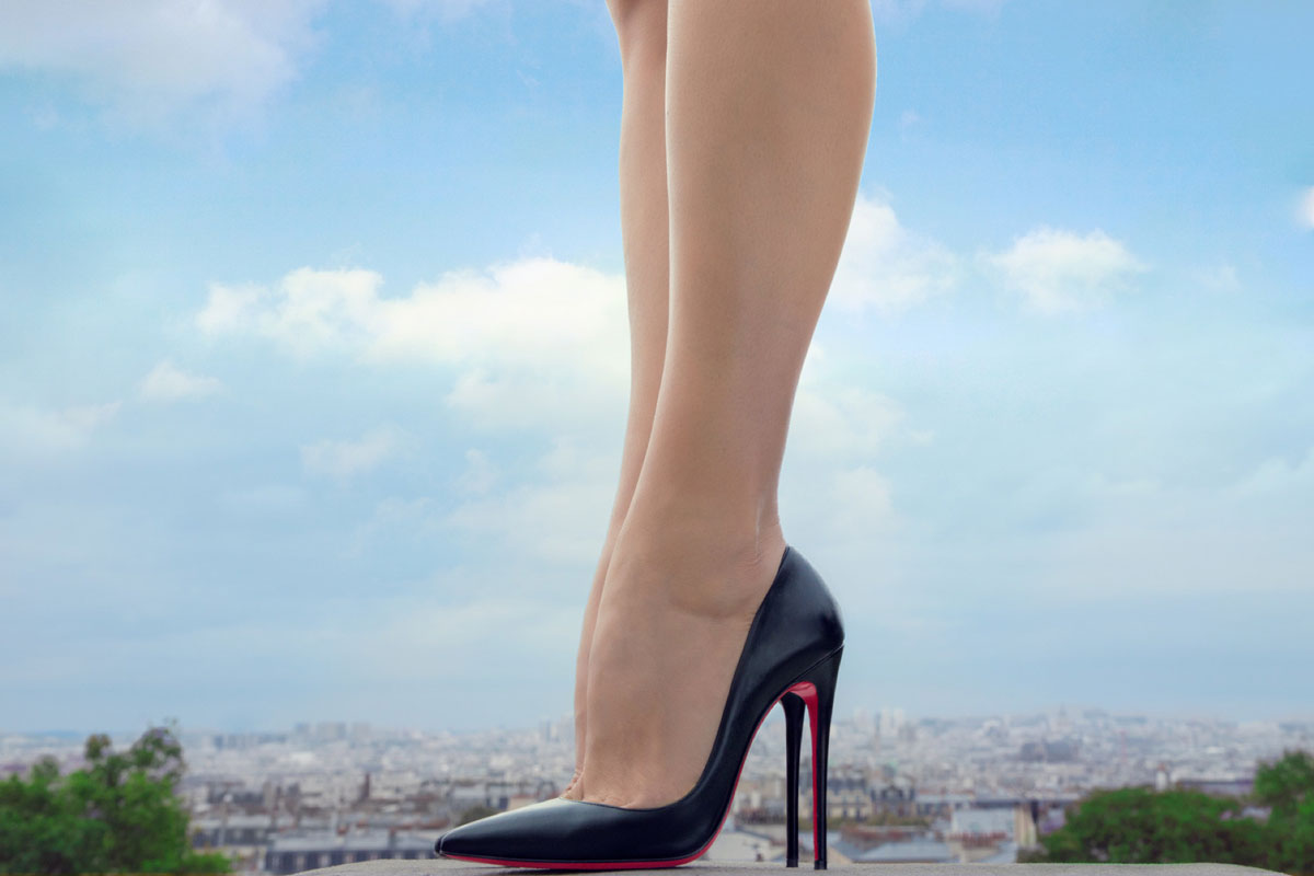 3a511262d70 Christian Louboutin - Black And Nude So Kate
