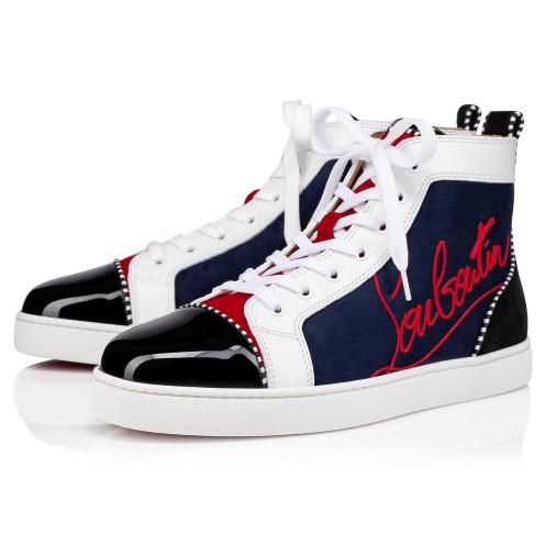 Shoes - Navy Louis - Christian Louboutin