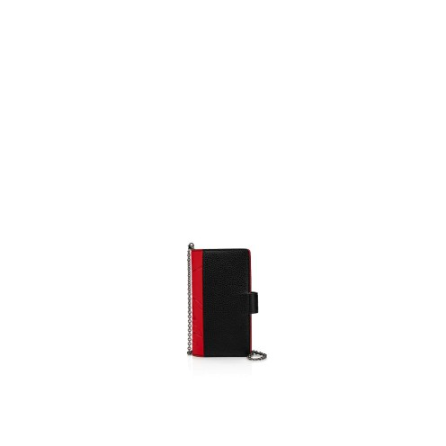 Small Leather Goods - Loubiflap Chain Case Iphone - Christian Louboutin
