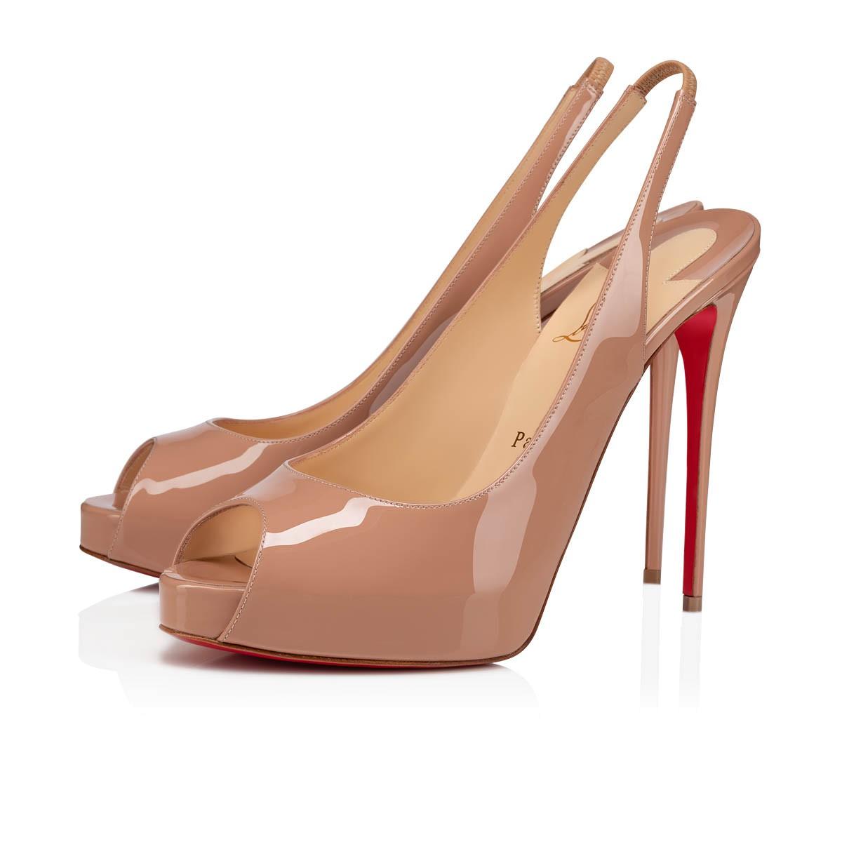 chaussure louboutin femme beige