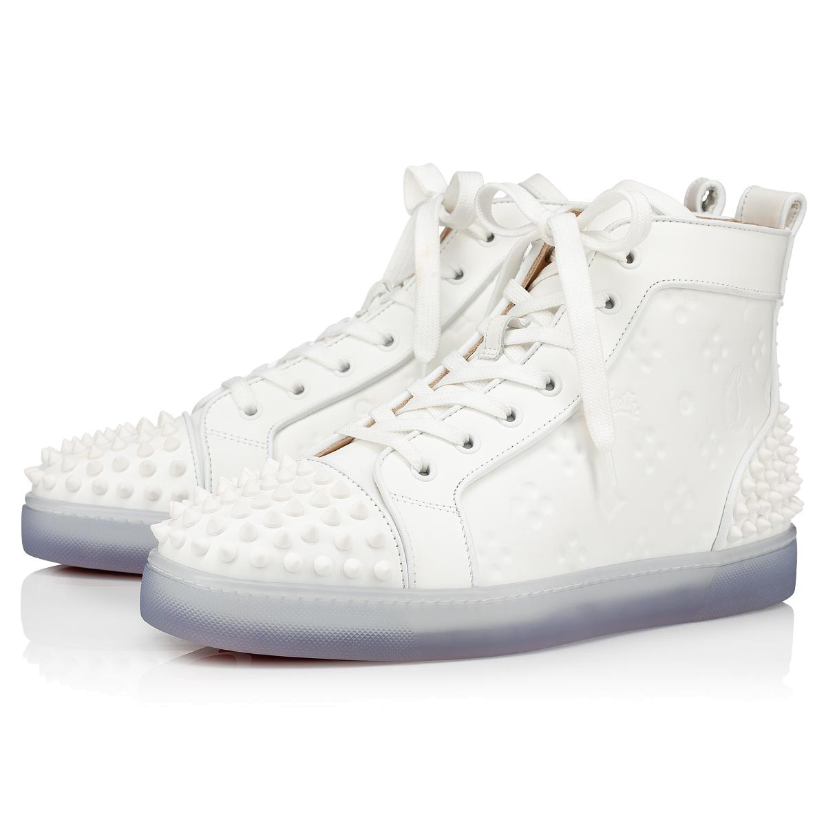chaussure blanche louboutin