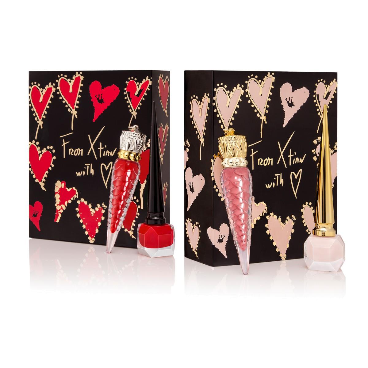 Beauty - Loubivalentine Nude Gift Box - Christian Louboutin
