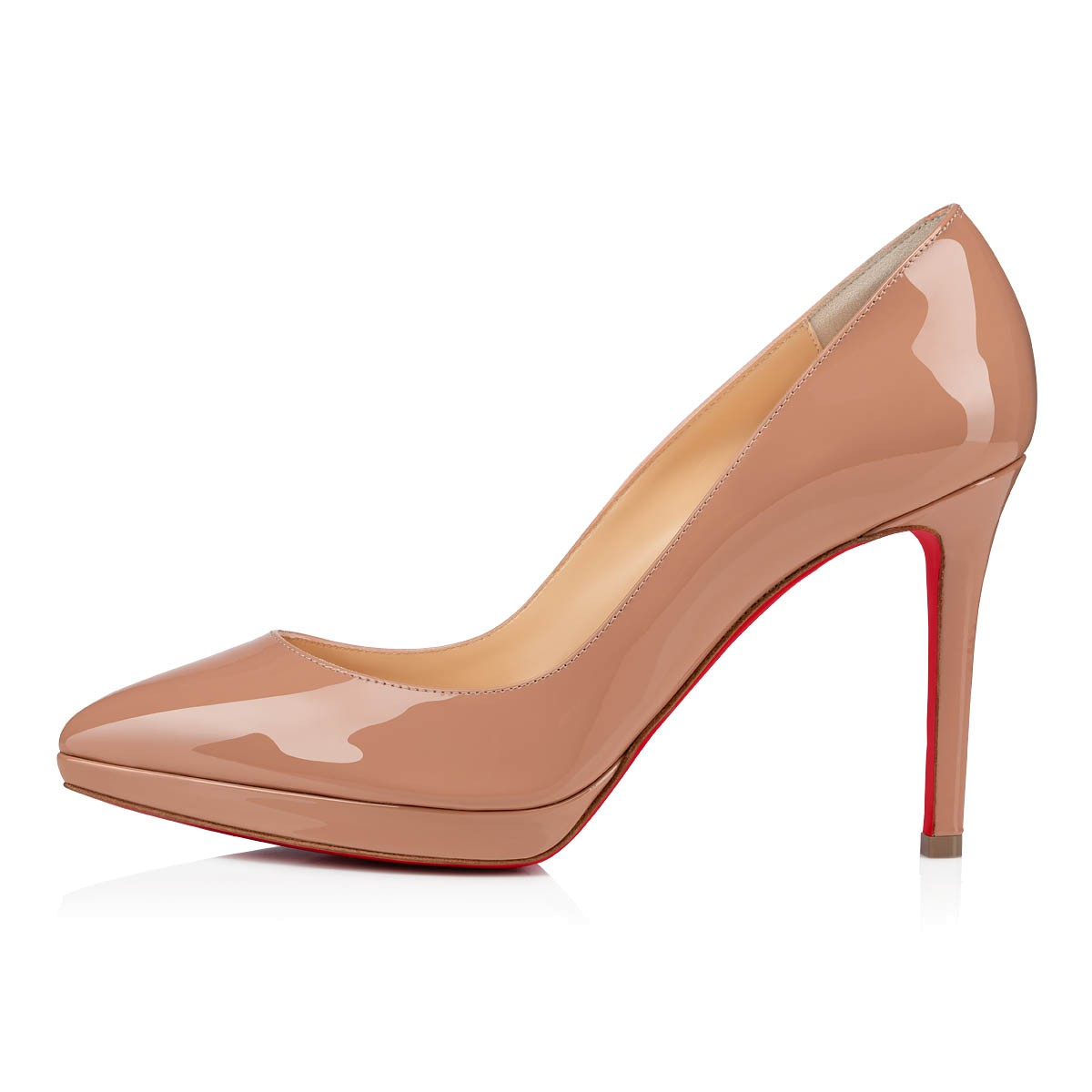 KATE 55 NUDE Leather - Women Shoes - Christian Louboutin