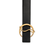 Belt - W Cl Logo Belt - Christian Louboutin